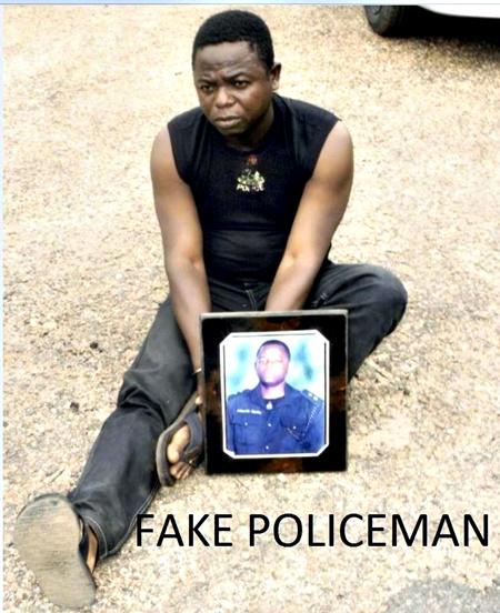 Welcome To Uyi Ehigie's Blog: Busted! Fake Policeman