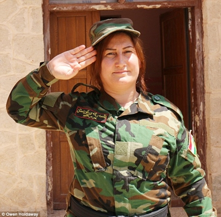 The Brigades Founder And Commander Is Xate Shingali A Renowned Singer In Northern Iraq