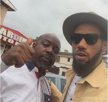 Made of Black! Phyno Shows Off His Enugu Fans (Photos)