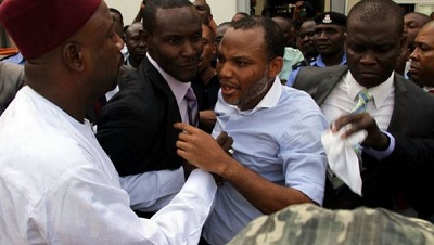 Image result for nnamdi kanu trial