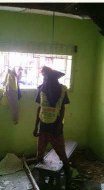 man commits suicide in festac town lagos graphic photos