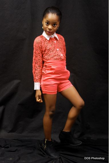 See Photos of a 7-year-old Nigerian Model that Got Everyone Talking.