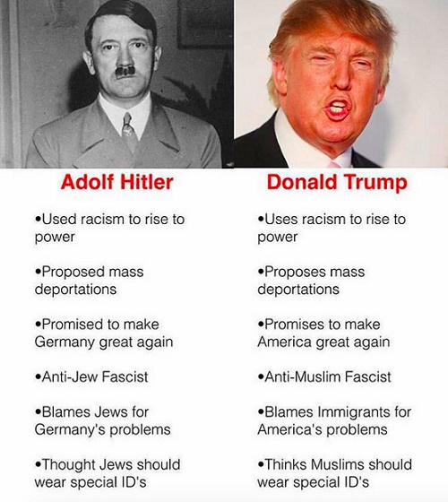 Compare Hitler and Franklin D Roosevelt...?