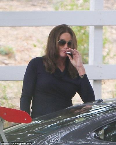 Transgender Star Caitlyn Jenner Spotted Smoking As She