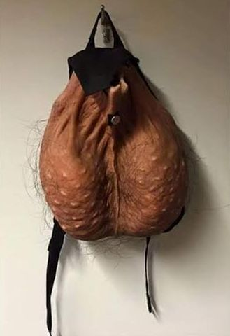 Check Out This Bag That Looks Exactly Like A Scrotum Photos