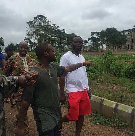 Davido Tours Adeleke University Owned By His Father (Photos