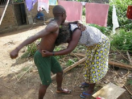 Husband Beats Wife in Public After Catching Her Having S*x with Office Colleague