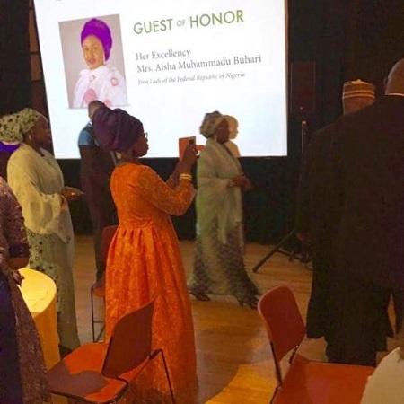 Aisha Buhari in the US