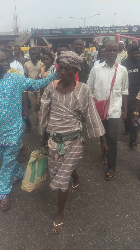 Woman caught in Oshodi