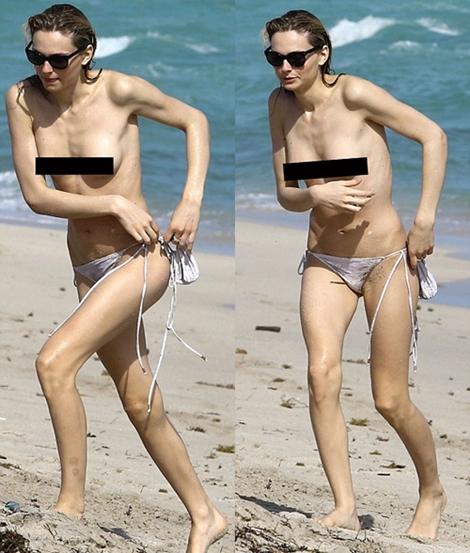 No Bra Day Popular Transgender Model Spotted Topless On