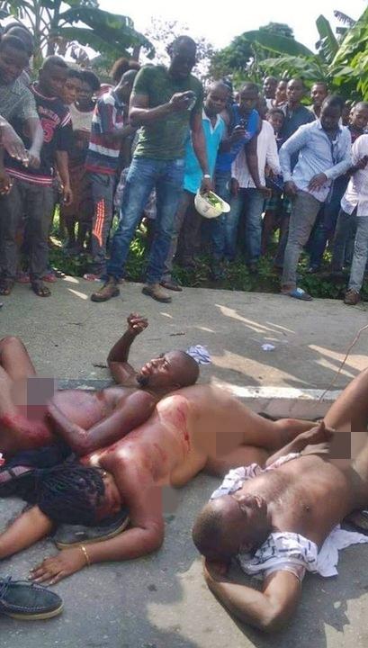 woman stripped in public