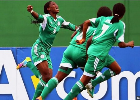 Breaking News: Nigeria's Super Falcons Beat Cameroon's Indomitable Lionesses to Win 8th African Title