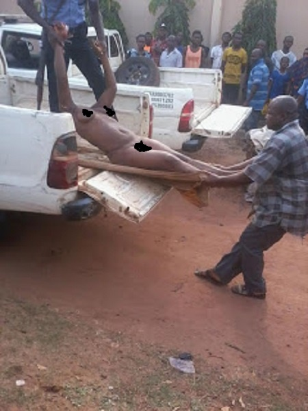 Commotion in Enugu as Corpse of Headless N*ked Woman is Found in Broad Daylight (Photos)