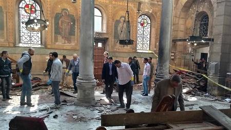 Bomb Explosion Kills 25 People at a Catholic Church (Photos)