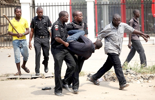 So Sad! India Hemp Smokers, Hoodlums Beat Police Officer to Death in Enugu