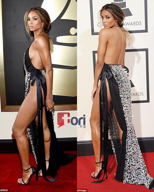 Ciara dress at the Grammy Awards
