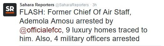 Image result for Chief of Air Staff, Air Marshal Adesola Amosu (retd.),