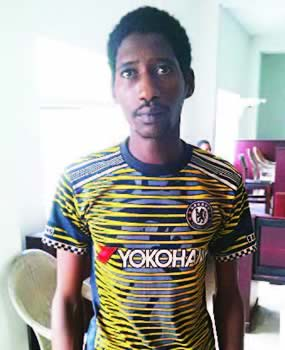 See the Face of a Herdsman Arrested by DSS for Killing a Man in Rivers State (Photo)