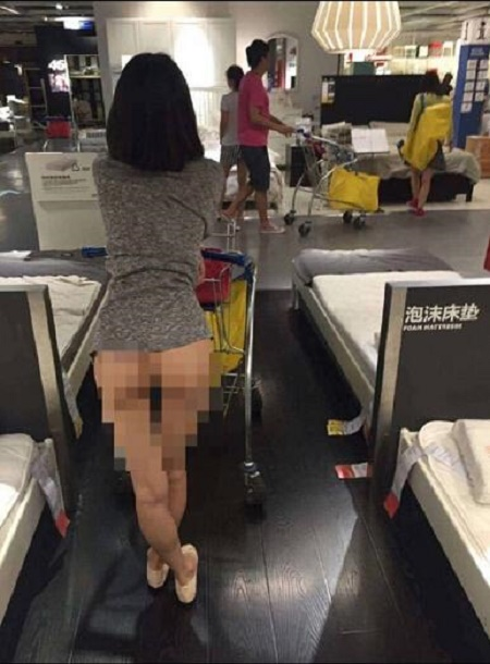 Unbelievable! Chinese Woman Causes Uproar by Going to