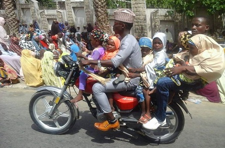 Image result for pictures of Overloaded okada riders