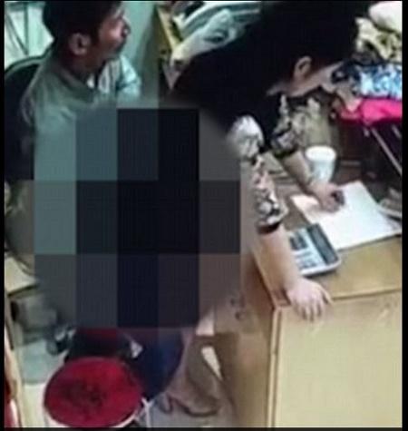 Shop owner sex