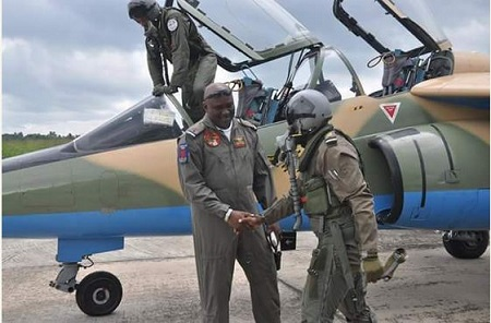 NAF Deploys Additional Aircrafts to South-South to Help Flush Out Militants (See Photos)