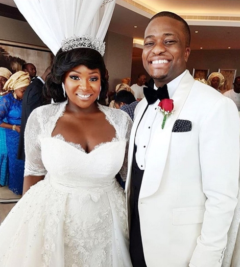 Newly-married Toolz and Her Husband in Cherubim and ...