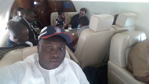 Ifeanyi Ubah Flies His Players On A Private Jet To Support