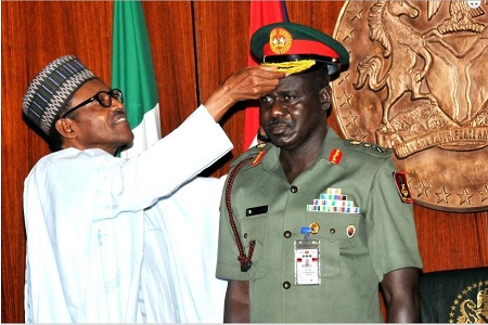 Group asts Buhari to sack, prosecute Buratai or free all political, corruption detainees