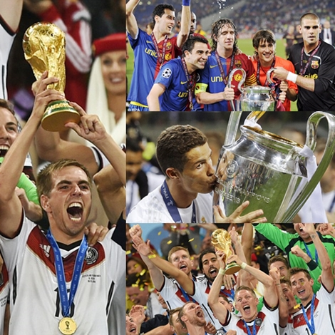 Check Out the 10 Most Decorated Players in World Football. Cristiano Ronaldo is Not on it