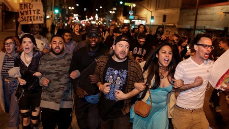 He's Not My President! – Angry Protests Rock California After Donald Trump's Victory (Photos)