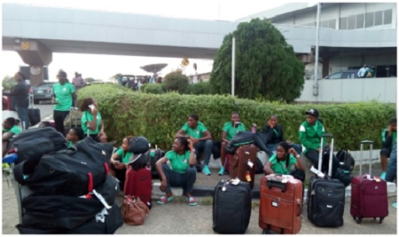 Oh No! Stranded Falconets Given Paltry N30,000 Each After Returning to Nigeria
