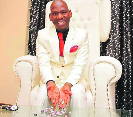 Meet the Controversial Prophet Whose 'Holy Stones' Allegedly Chases Away Evil Spirits and Zombies (Photo)