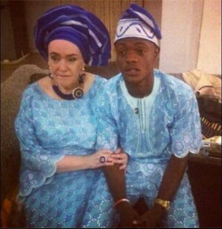 Nigerian women white men
