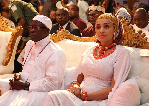 see all the glamorous photos at the oba of benins coronation
