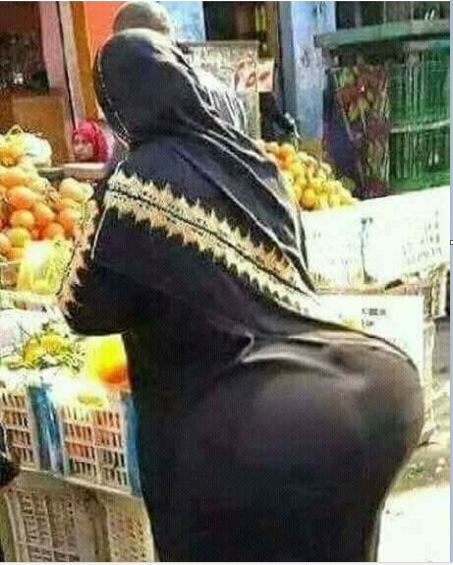Image result for huge Arab women - on the street