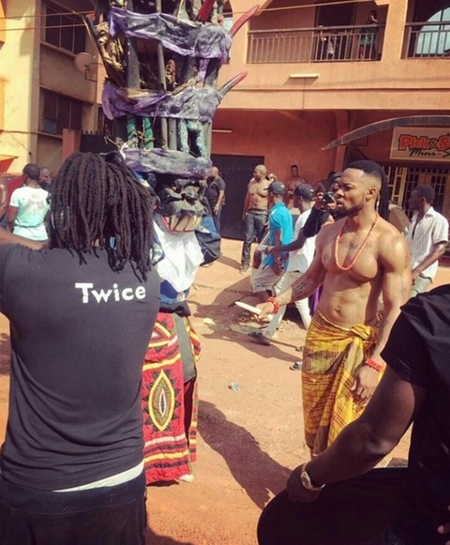 What are They Cooking? Flavour & Phyno Spotted in Enugu Town