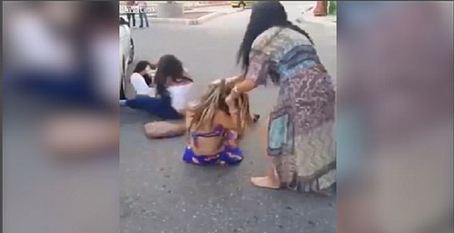 Brutal Woman Fight