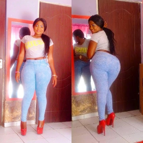 {filename}-Nigerian Men Love Big Ass Than Boobs - Nollywood Actress, Evia Simon (photos)