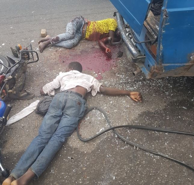 Bloody Accident Takes Place On Third Mainland Bridge