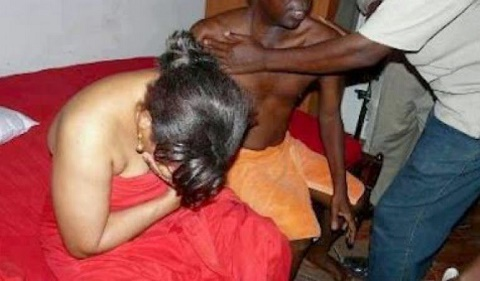Wife Caught In Bed With Another Man