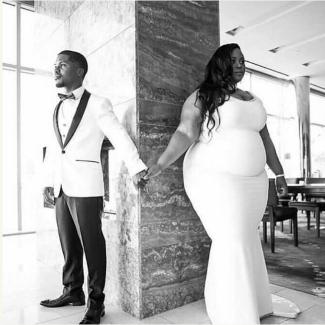 Pre-Wedding Photo of a Man and His Big-Sized Fiancee Causes Stir Online