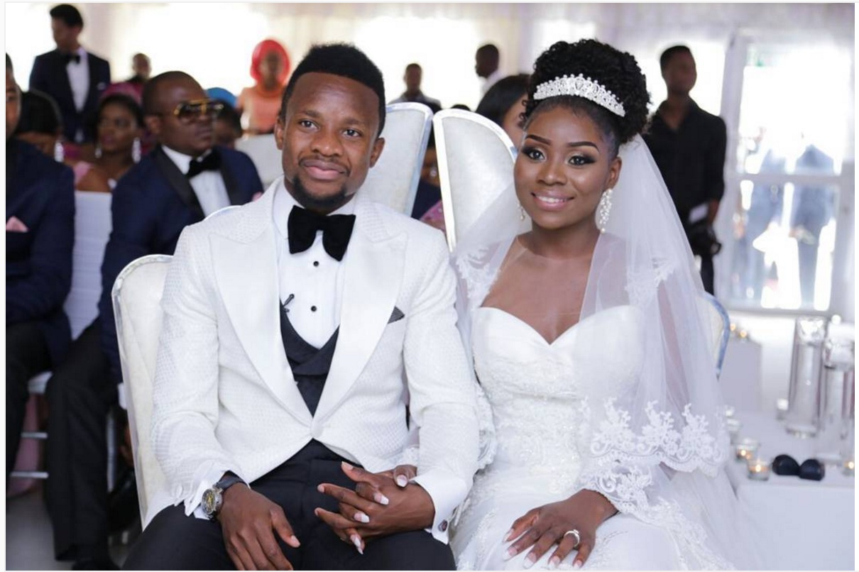 Nigerian Footballer, Onazi Ogenyi and Wife Welcome Bouncing Baby Girl in the U.S (Photos)