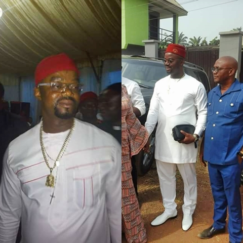 Meet Chief Aloysius a.k.a Bishop Believed to be the Target of Anambra Church Shooting (Photos)