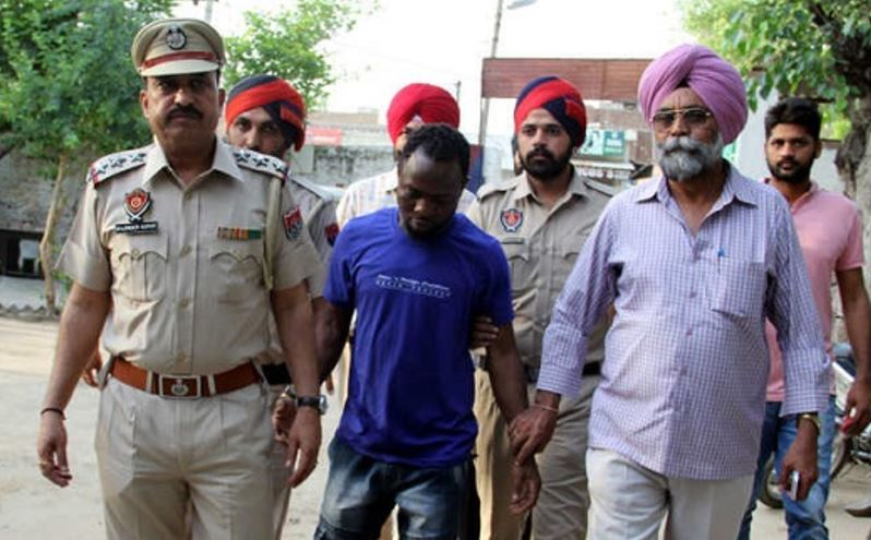Notorious Nigerian Drug Lord Arrested with Heroin in India (See Photo)