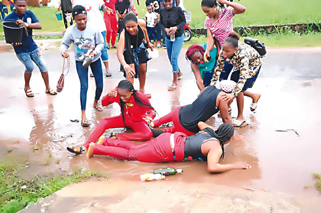 Weird? See the Crazy Things Nigerians Do In The Name Of Celebration (Photos)