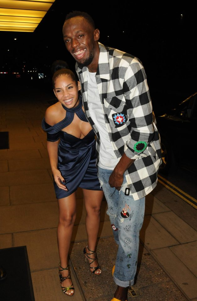 Retirement: See What Usain Bolt Was Spotted Doing at Night With His Girlfriend and Fans (Photos)