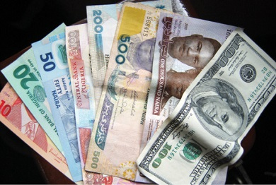 Naira Appreciates Against the Dollar