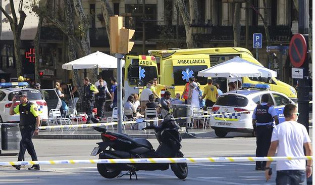 Terrorists Attack Barcelona