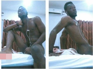 Stupidity or Lifestyle? Port Harcourt-based Man Shows-off His Hot Body in Controversial Photos Gone Viral
